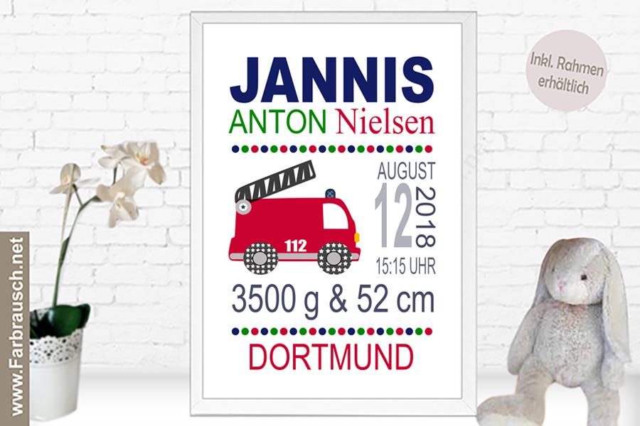 Bild Mit Geburtsdaten : bild f r 39 s kinderzimmer ~ Frokenaadalensverden.com Haus und Dekorationen