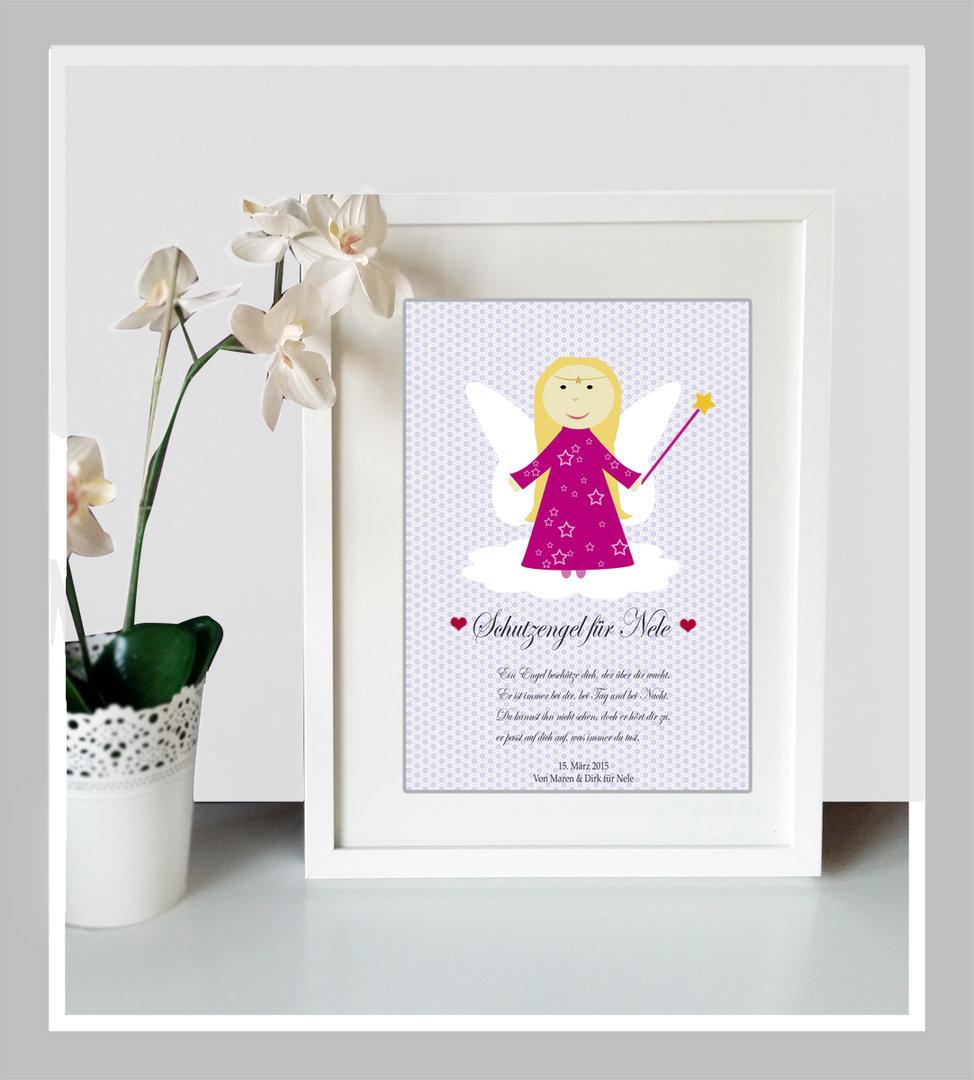 Großartig Schutzengel Sprüche Galerie Von Schutzengel-bild Für Mädchen